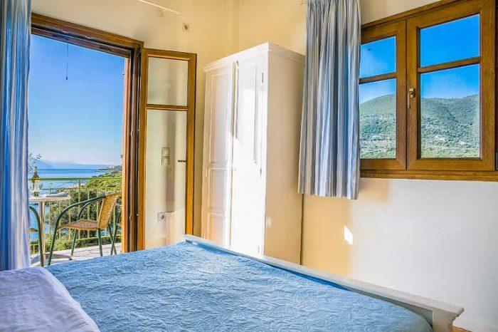 villa-pelagos-sivotavillas-lefkada-island-greece-modern-bedroom-with-double-bed-and-private-balcony